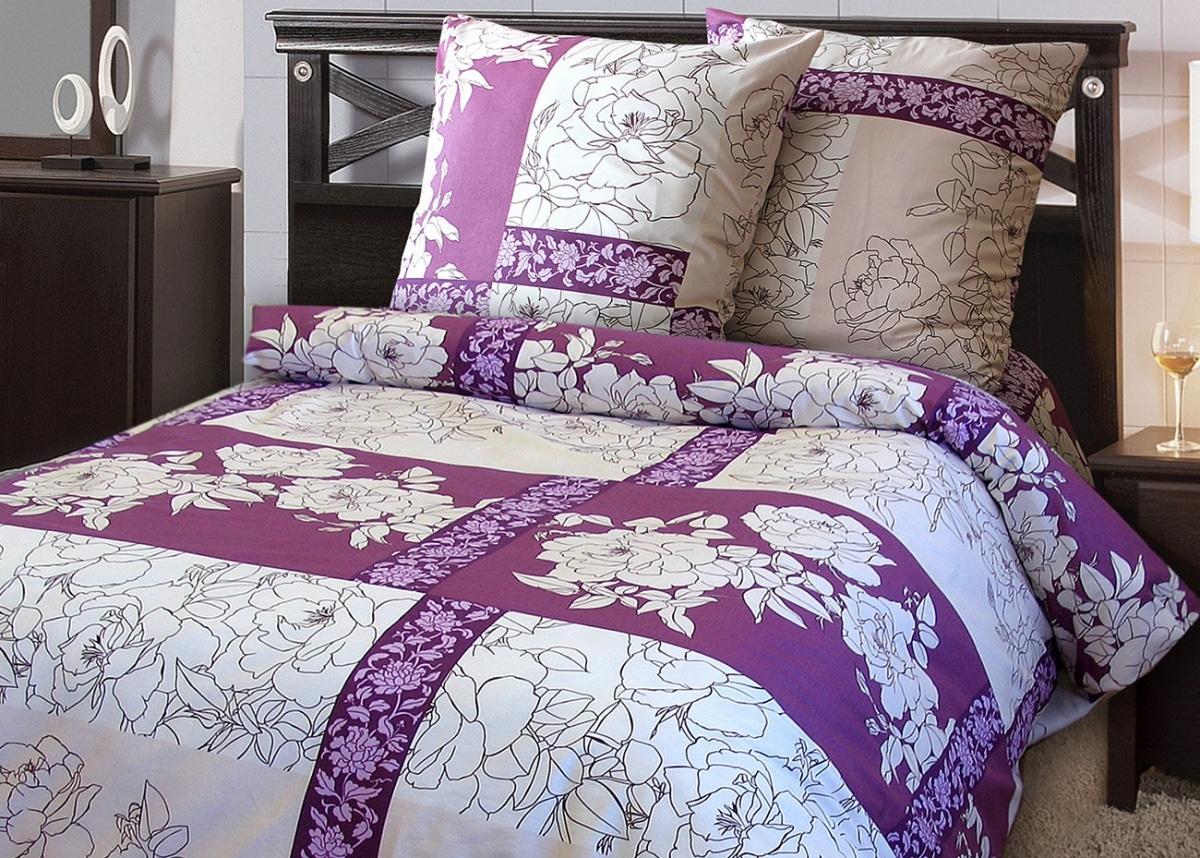 Полуторное постельное белье Шабо