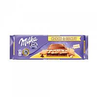 Шоколад Milka Choco & Biscuit 300g