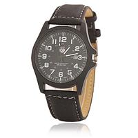 Часы мужские наручные чёрные арт. 092-1