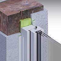 Внутреняя оконная роликовая планка Illbruck Fenster-rolleiste Innen (с 2-ух стороним скотчем) ширина 50 мм