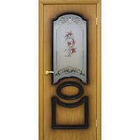Двери Виктория СС цветок орех миланский