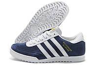 Кроссовки синие Adidas Beckenbauer Allround