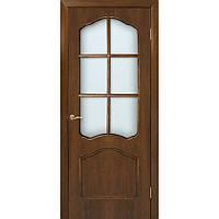 Двери Каролина ПО орех натуральный шпон