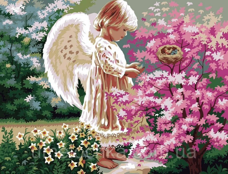 Рисование по номерам Ангел хранитель (BRM-G280) 40 х 50 см