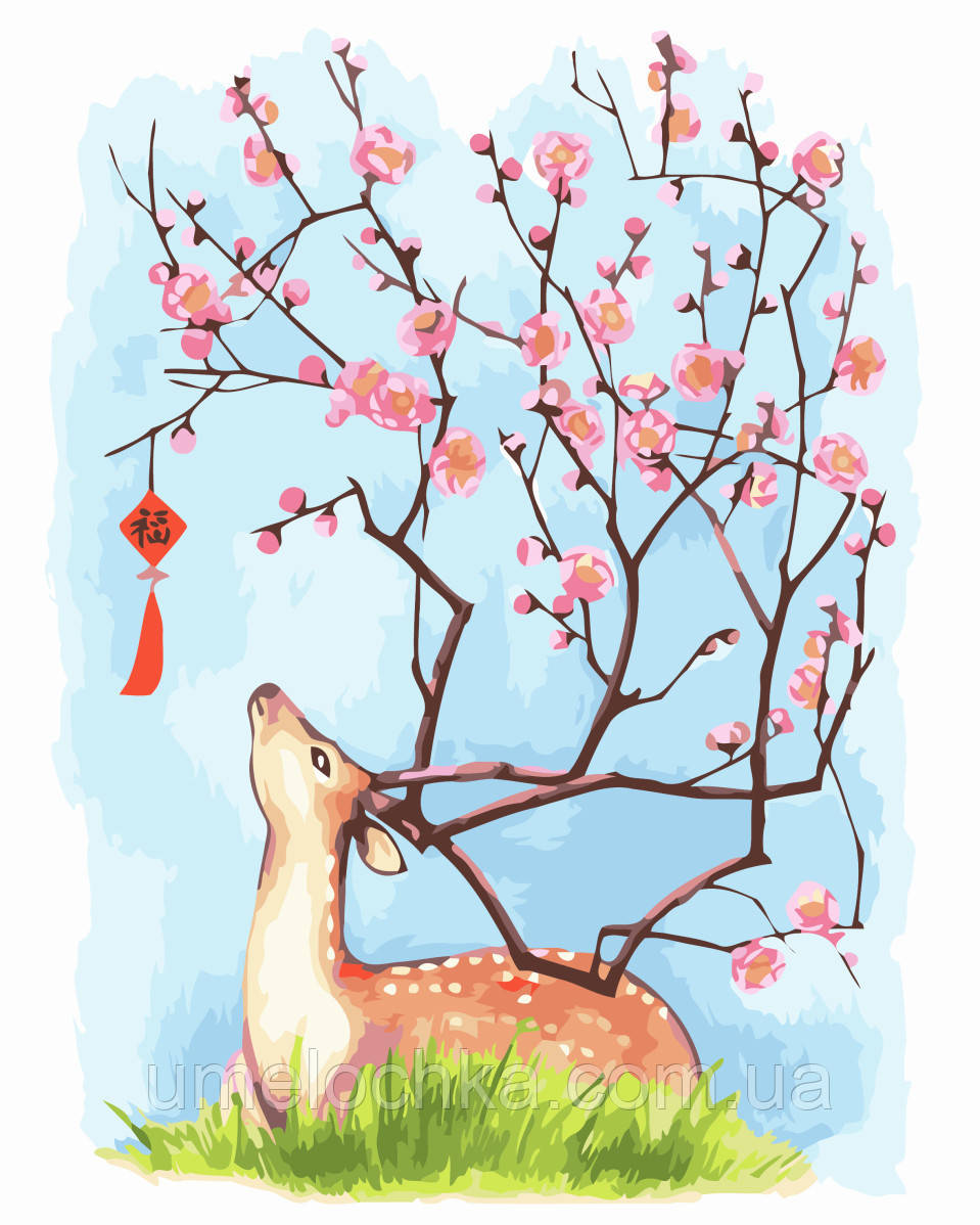Картина-раскраска Пробуждение природы (BRM-GX3500) 40 х 50 см