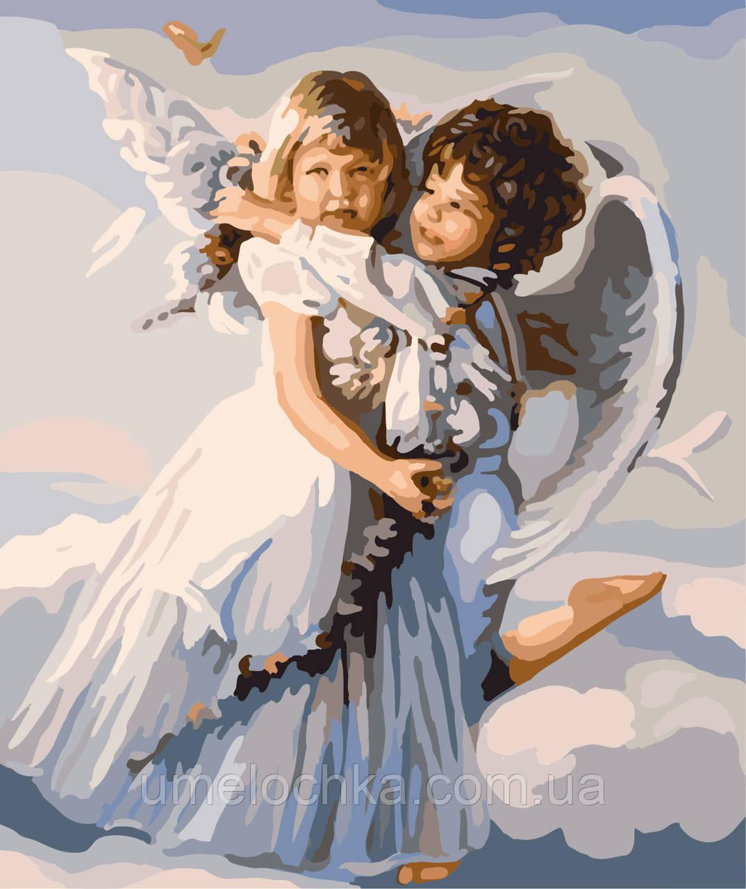 Картина по номерам Ангелочки (BRM-GX6508) 40 х 50 см