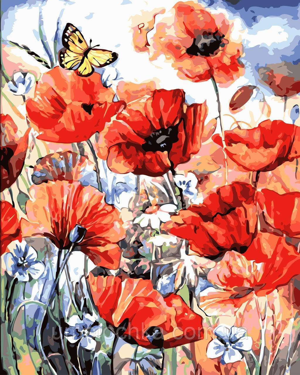 Картина-раскраска Дыхание лета (BRM-GX7073) 40 х 50 см