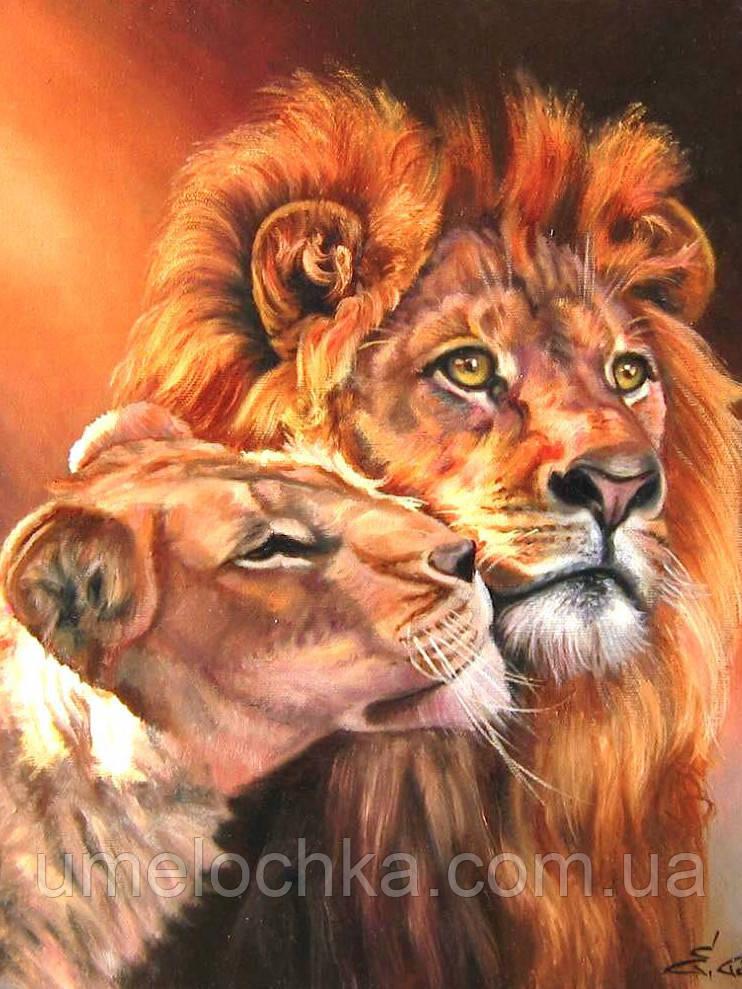 Набор для рисования Царственная пара (BRM-GX7279) 40 х 50 см