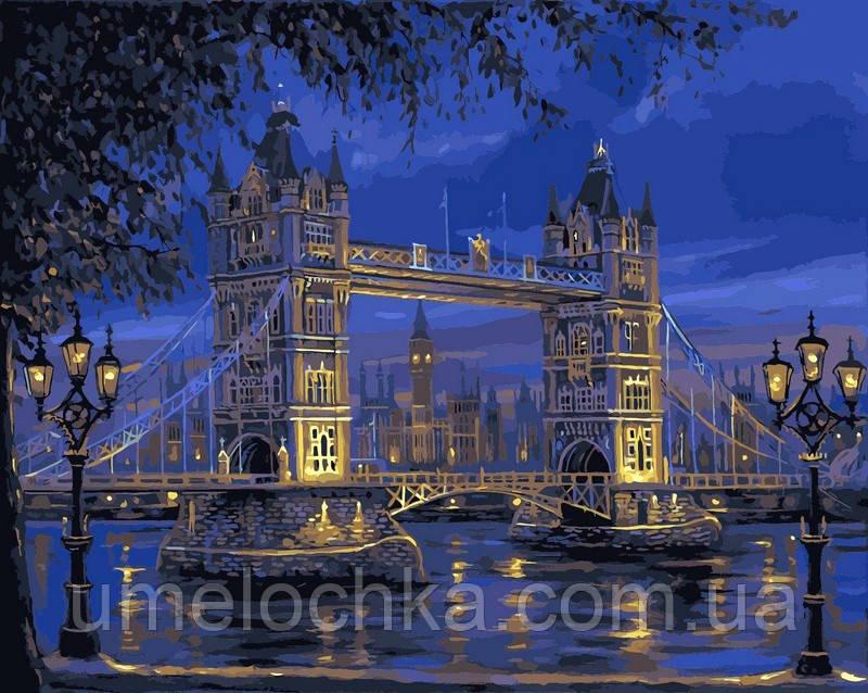 Картина по номерам Тауэрский мост худ Финале, Роберт (BRM-GX7846) 40 х 50 см