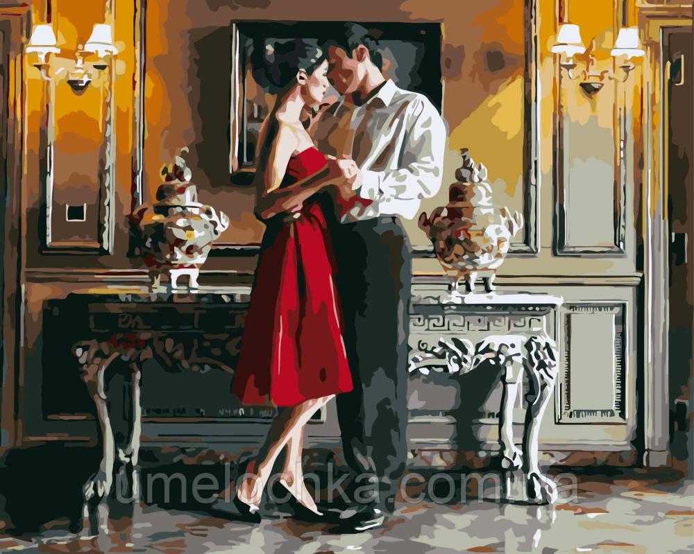 Картина по номерам Романтический вечер худ Роб Хэфферан (BRM-GX8418) 40 х 50 см