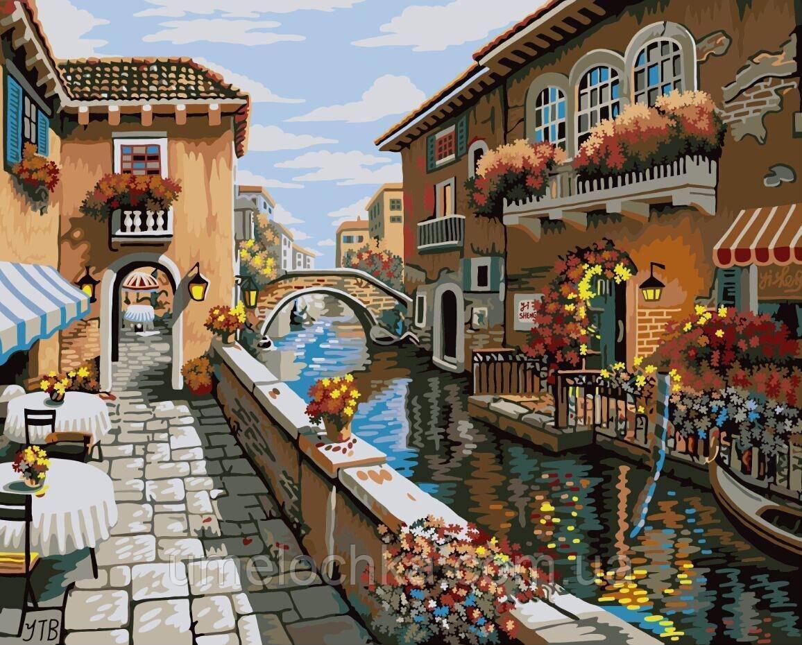Картина по цифрам Белый город Худ Боб Пейман (BRM-GX8518) 40 х 50 см