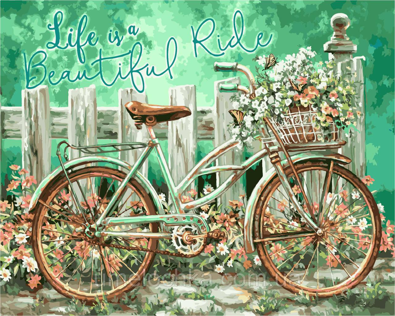 Картина-раскраска Идейка Волшебная поездка Худ Донна Гелсингер (KH2220) 40 х 50 см