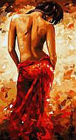 Рисование по номерам Идейка Гармония худ Имире Тот (KH2616) 27 х 50 см