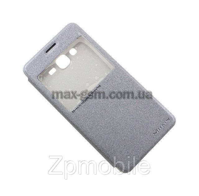 Футляр книжка NILLKIN Samsung J2 Prime/G532F - Super Frosted Shield black