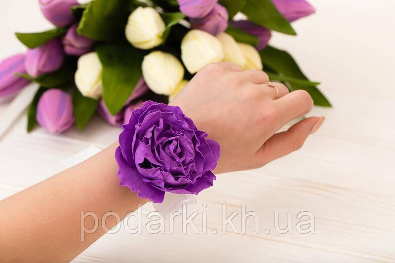 Цветок на руку для девичника