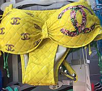 Купальник женский раздельный Chanel 36-42р.