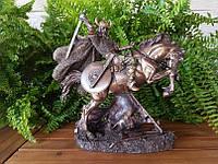 Коллекционная статуэтка Veronese Викинг на коне 71104A4