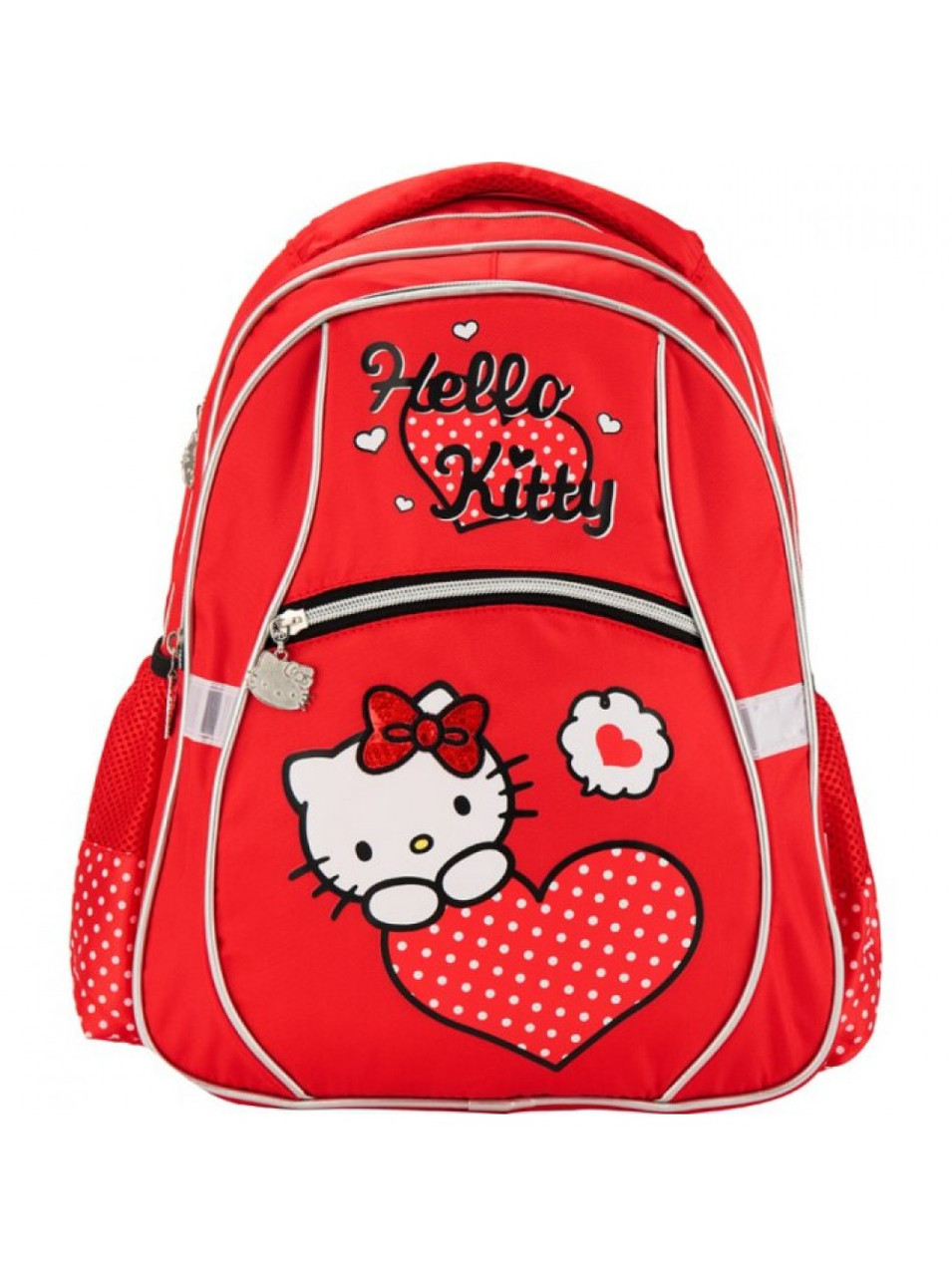 Красный рюкзак для девочки Kite 523 HK