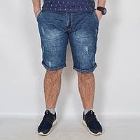Чоловічі джинсові   шорти Турція (батал)