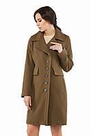 Женское пальто ПВ-19 Хаки, фото 1