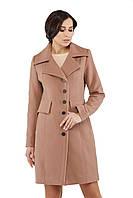 Женское пальто ПВ-19 Бежевый, фото 1