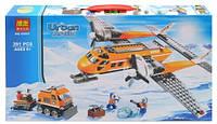 Конструктор Bela серия Urban Arctic 10441 Арктический самолёт (аналог Lego City 60064) 391 деталь