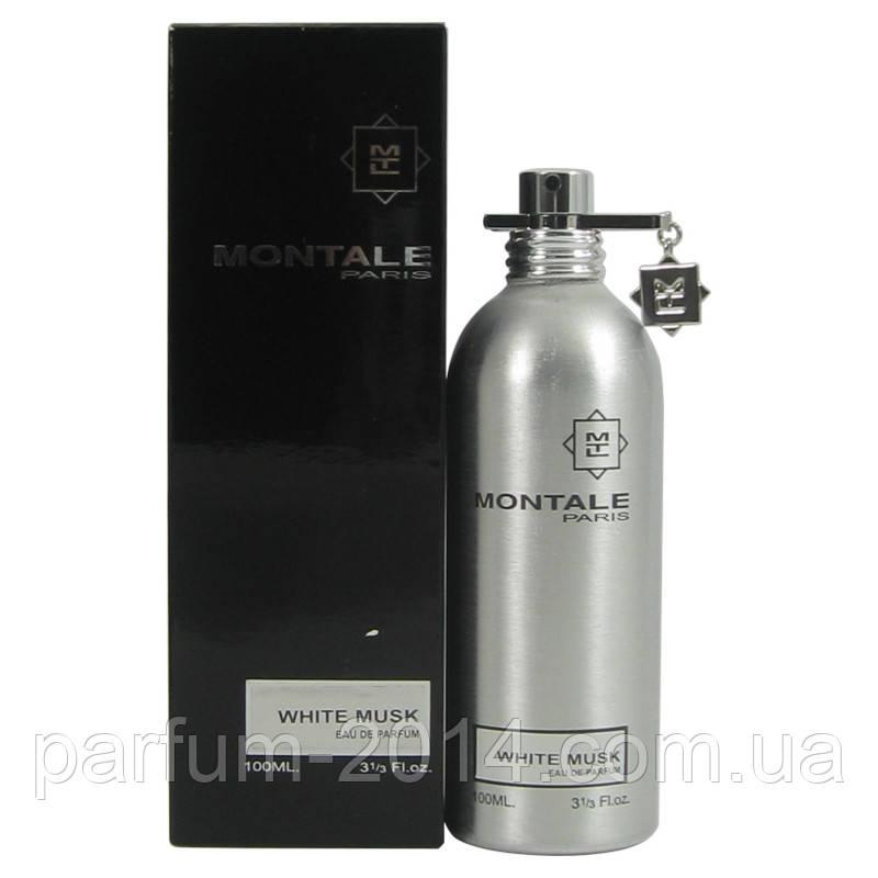 Парфюмированная унисекс вода Montale White Musk 100 ml (реплика)