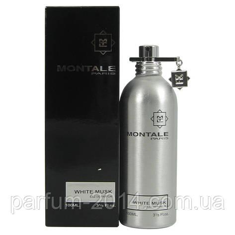 Парфюмированная унисекс вода Montale White Musk 100 ml (реплика), фото 2