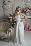 Свадебное платье ампир айвори