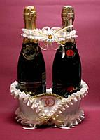 Корзиночка для  шампанского, айвори