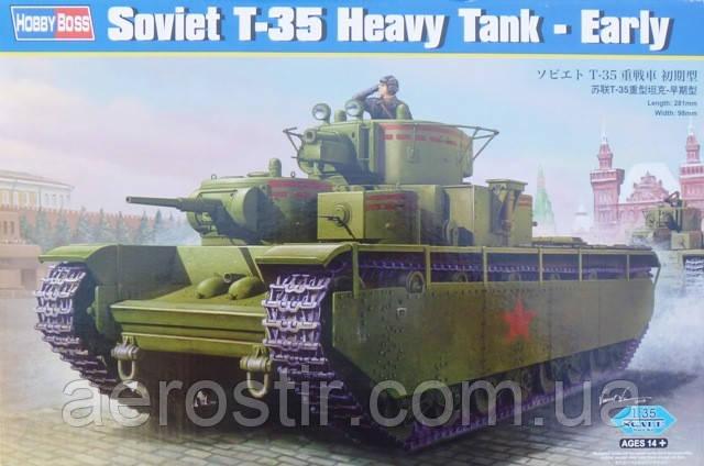 T-35 Heavy Tank-Early 1/35 HOBBY BOSS 83841