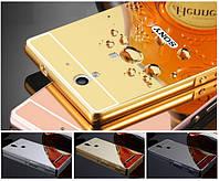 Чехол бампер для Sony Xperia C3 Dual D2502 D2533 зеркальный