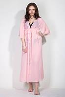 Длинное платье из мягкого струящегося шифона