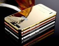 Чехол бампер для Huawei Honor 6 зеркальный