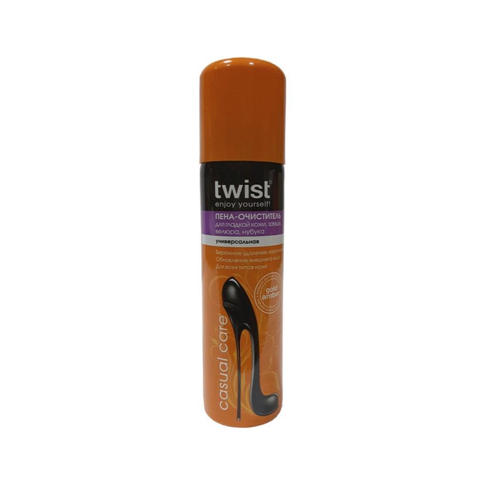 Пена-очиститель универсальная TWIST для гладкой кожи замши велюра нубука