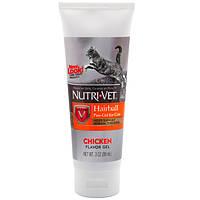 Гель Nutri-Vet Hairball Paw-Gel для кошек, выведение комочков шерсти, 89 мл