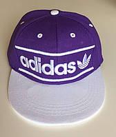 Бейсбольная кепка Adidas с логотипом (Прямой козырек)