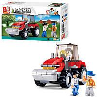 Конструктор SLUBAN M38-B0556 ферма, трактор, фігурки, 103 дет., кор., 23,5-14-4,5 см (BOC074716)