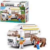 Конструктор SLUBAN M38-B0561 ферма, трактор, тварини, 512 дет., кор., 42,5-38-8 см (BOC074721)