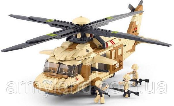 """Sikorsky UH-60 Black Hawk """"Черный Ястреб"""" военный конструктор , фото 2"""