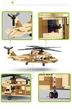 """Sikorsky UH-60 Black Hawk """"Черный Ястреб"""" военный конструктор , фото 3"""