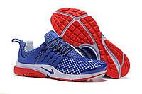 Кроссовки мужские Nike Air Presto TP QS Flyknit Blue Red M