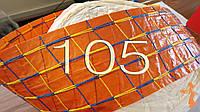 """Оболочка с цветной сеткой для домашних колбас """"Fanet"""", диаметр 105, цвет копчения"""