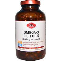 Омега-3 жирные кислоты, рыбий жир 2000 мг, Olympian Labs Inc., 240 мягких капсул