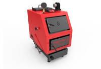 Твердопаливний котел «РЕТРА-5М» Енергонезалежний Твердопаливний котел «РЕТРА-5М PLUS» Комплектується ел.блоком керування та вентилятором Ручна подача