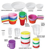 Пластмасовий посуд