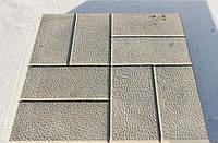 Форма пластиковая для садовой дорожки (форма для тротуара) 40х40 см.