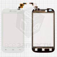 Тачскрин (сенсор) для мобильного телефона Nomi i401 Colt, белый, (117x60,5 мм)