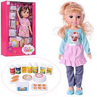 Кукла 89011 31см, 2 вида(1в-набор для уборк,2в-продукты), в кор-ке, 22,5-35-8см