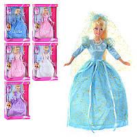 Кукла DEFA 20947 фея, аксессуары, кулон, 6 видов, в кор-ке, 34-24-6,5см